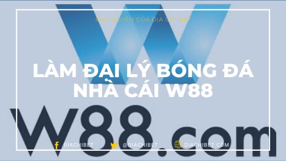 Làm đại lý W88 Diachibet Banner Logo