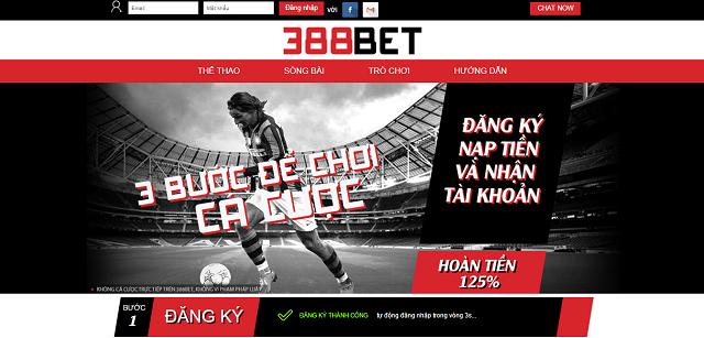 Website nhà cái 388bet