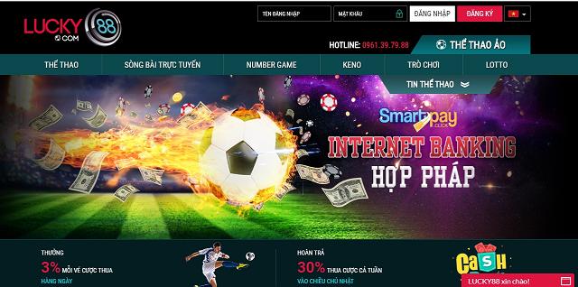 Website Lucky88