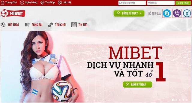 Website nhà cái Mibet